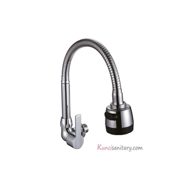 Kran Kitchen Sink: Kran Sink Tembok Spout L